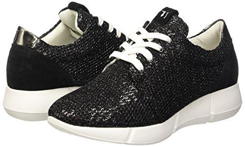19 79s02249 Baskets Jeans Trussardi Noir Femme Nero wzqXfWTaR