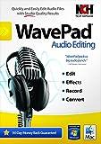 Wavepad(TM) 5 Audio Editor, For PC/Mac, Traditional Disc