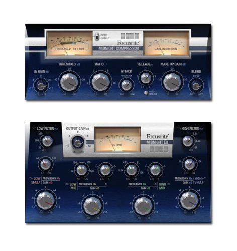 Focusrite Midnight ISA 110 and ISA 130 Plug-in Suite
