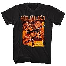 John Wayne Color Group Good Bad Ugly Bad Western Movie Poster Adult T-Shirt
