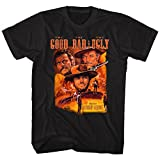 good bad ugly shirt - John Wayne Color Group Good Bad Ugly Bad Western Movie Poster Adult T-Shirt