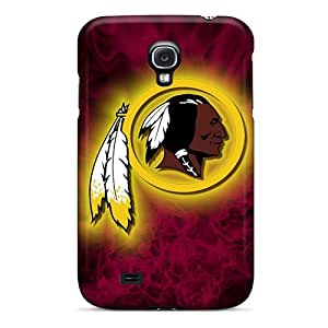 Scratch Resistant Hard Phone Covers For Samsung Galaxy S4 With Support Your Personal Customized High Resolution Washington Redskins Skin LisaSwinburnson WANGJING JINDA