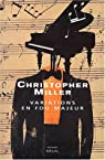 Variations en fou majeur par Miller (II)