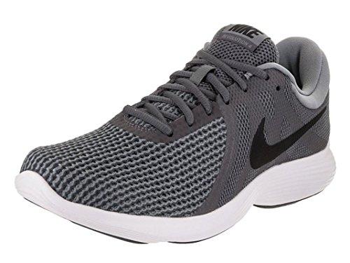 NIKE Men's Revolution 4 Running Shoe Dark Grey/Black/Cool Grey/White Size 10.5 M US