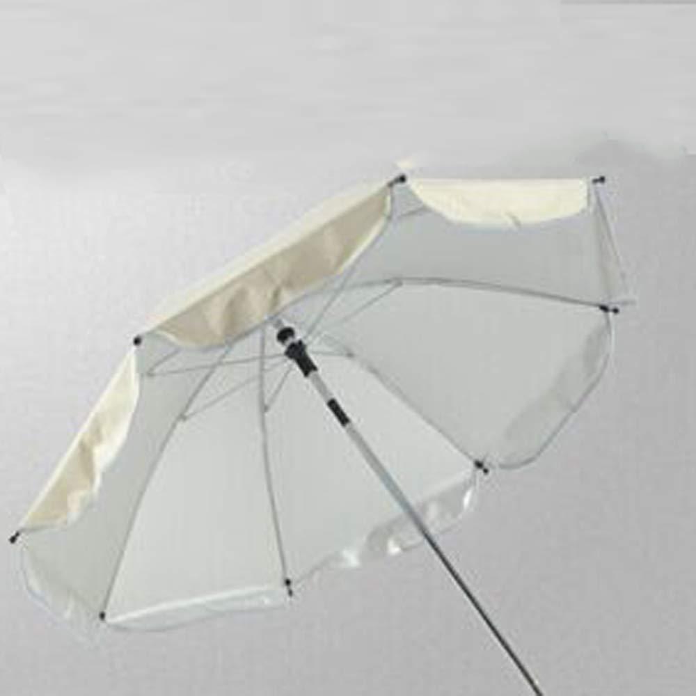 Rose LLYWCM Parapluie Poussette B/éb/é,Pare-soleils et Ombrelles R/églable Landau Sun UV Protection Parapluie Parasol avec Holder Poussette Accessoires