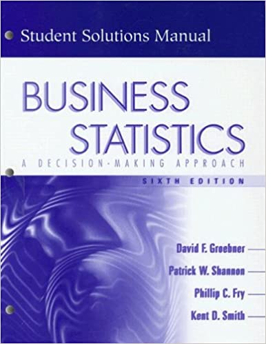 Business statistics a decision making approach student solutions business statistics a decision making approach student solutions manual 6th edition 6th edition fandeluxe Image collections