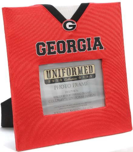 Bulldog Frame Photo - UNIFORMED University of Georgia Picture Frame, 4 by 6-Inch