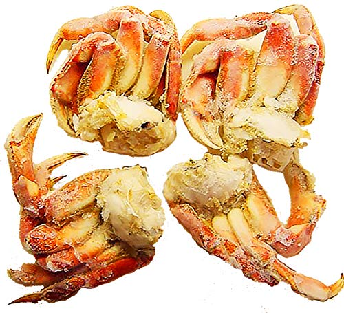 Crab Dungeness Sections Individual Quick Frozen, 25 Lbs.…