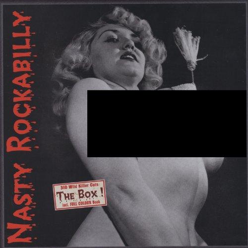 VA Nasty Rockabilly Box 10 CD product image