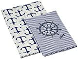 Mud Pie ships Wheel Towel Set