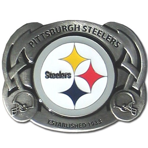 Steelers Buckle (NFL Pittsburgh Steelers Belt Buckle)