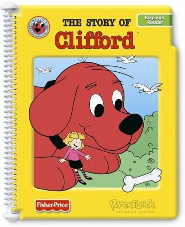 The Story of Clifford PowerTouch Learning System Book and Cartridge