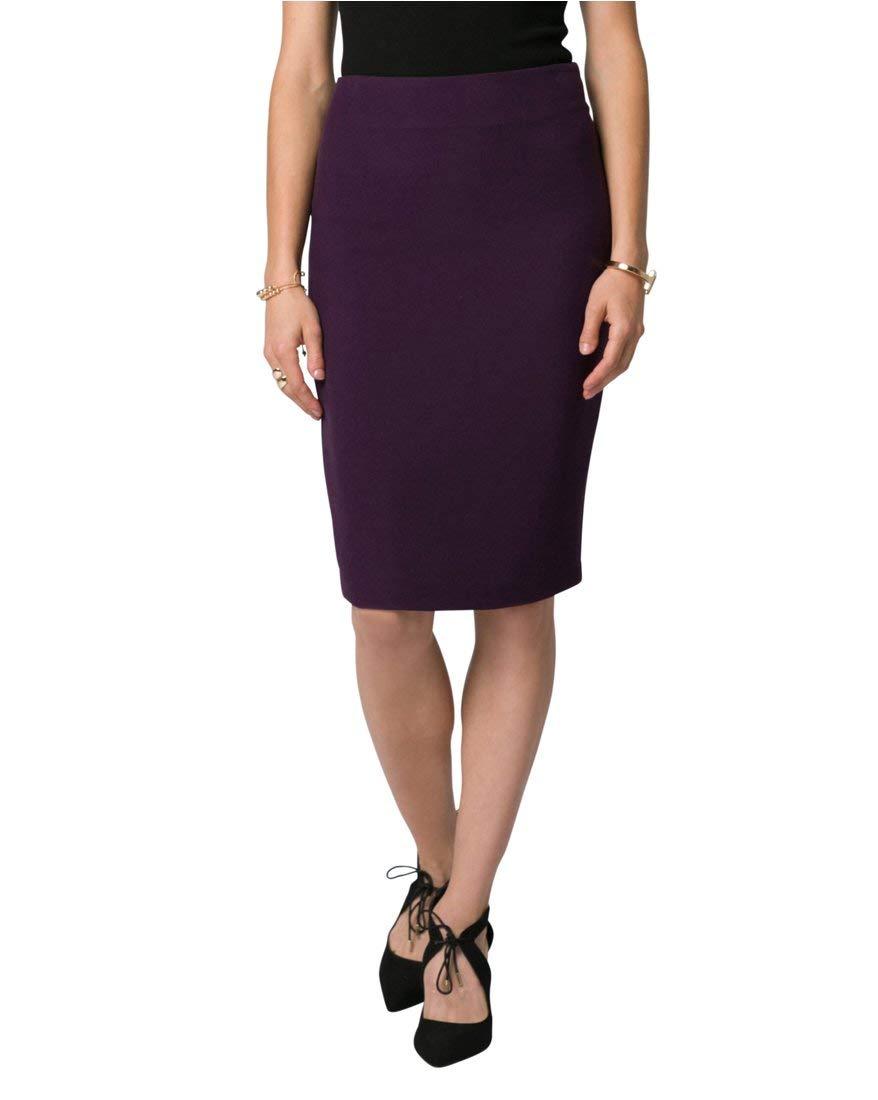 LE CHÂTEAU Women's Piqué Pencil Skirt 348012