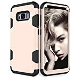HOHAM Galaxy S8 Plus Case, Hybrid Completely Scratch-proof and Drop Resistance Duroplasts+Soft Silicone Protective Case Cover for Samsung Galaxy S8 Plus