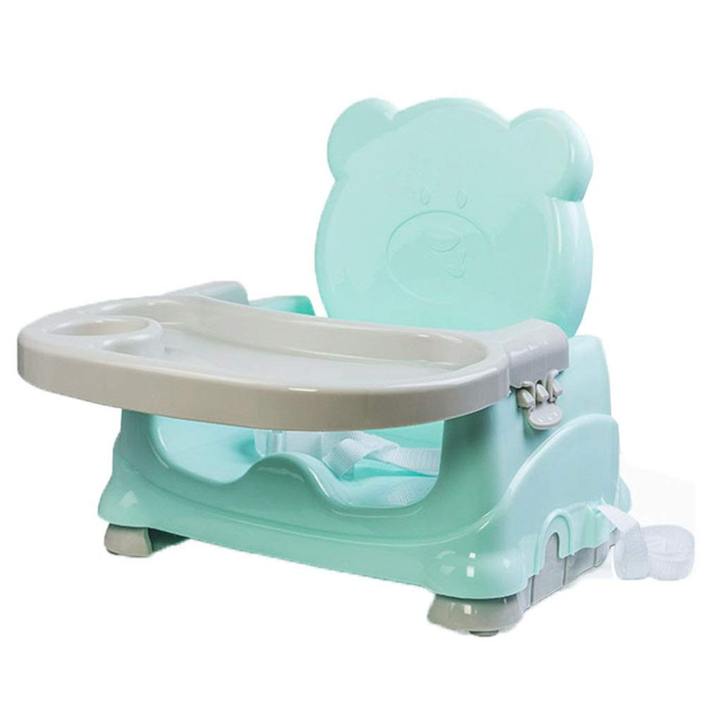 Kids' Desk & Chair Sets High Chair Height Foldable Portable Detachable Tray Safety Belt Steady Anti-Slip Safe Comfortable Suitable For Baby Kids Toddlers Children Over 6 Months Adjustable Baby Booster by Liuxina