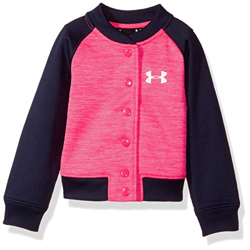 Under Armour Little Girls' Elevated Af Jacket, Penta Pink, (Under Armour Pink Jacket)