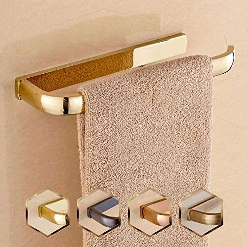 Xixuanstore Bathrooms are Mounted in, Copper Antique Towel Ring, Old Towel, Antique Towel Ring, (Color : Gold)