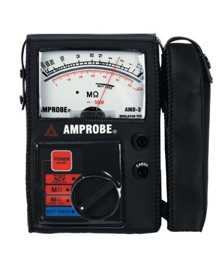 Amprobe AMB-3 Insulation Resistance (Analog Insulation Tester)