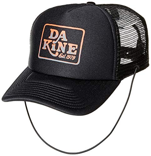 Dakine Womens Hat - Dakine Unisex Lock Down Trucker Hat, Black