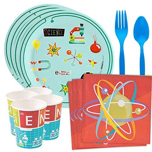 Costume SuperCenter Science Robot Party Standard Tableware Kit (Serves -