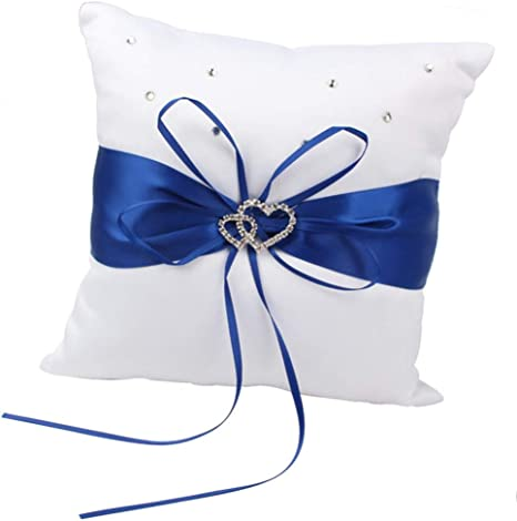 Ring Pillow Blue
