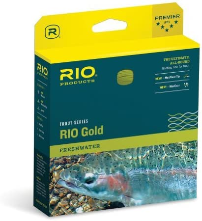 RioゴールドTournamentフライラインwf6 Fオレンジby Rio Brands