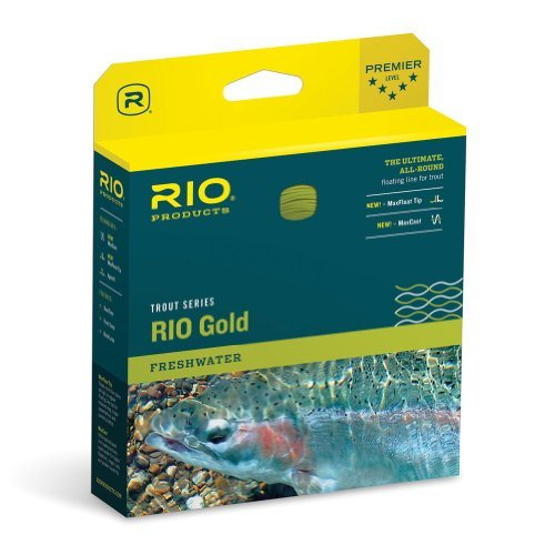 Rio Gold Fly Line lineweight WF8 F by Rio Brands