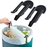 Moms Hand Home and Kitchen 10 Pieces Garbage Basket Waste Can Trash Bag Clip