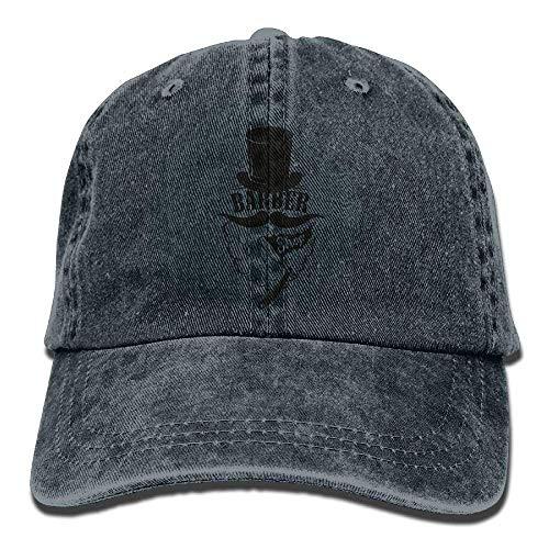 Hat Cowboy Men Skull Denim for Barber Sport Women DEFFWB Hats Cap Cowgirl Shave pxn1CH