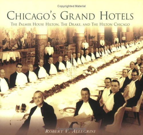 Chicagos Grand Hotels  The Palmer House  The Drake    And The Hilton Chicago  Il
