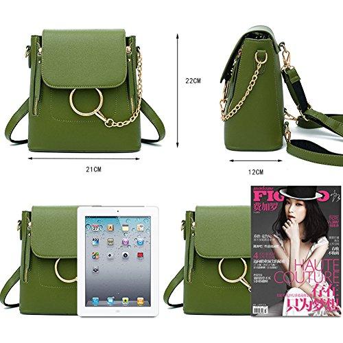 G-AVERIL GA1062-P - Bolso mochila  para mujer rosa rosa Army green