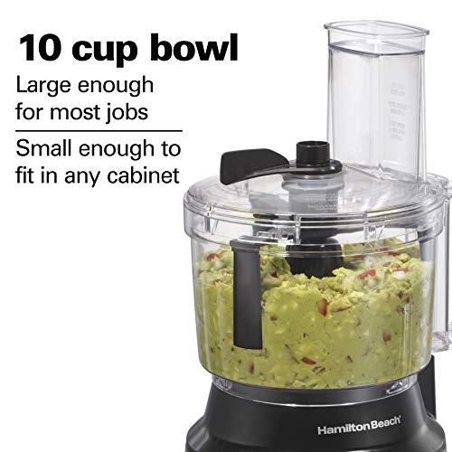 Meal Prep Clean Eating. Hamilton Beach (70730) Food Processor & Vegetable Chopper with Bowl Scraper, 10 Cup, Electric