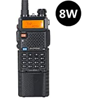 Baofeng UV-5R8W High Power 8W Tri-Power 1W/4W/8W Portable Dual Band Two-Way Radios 3800mAh battery