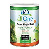 All One Powder Multiple Vitamins & Minerals, Green Phyto Base, 2.2-Pound Can For Sale