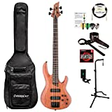 ESP LB1004SEBNS-KIT-1 B Series B-1004SE 4-String Electric Bass Guitar, Natural Satin