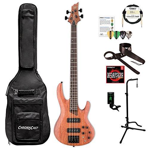 ESP LB1004SEBNS-KIT-1 B Series B-1004SE 4-String Electric Bass Guitar, Natural Satin by ESP