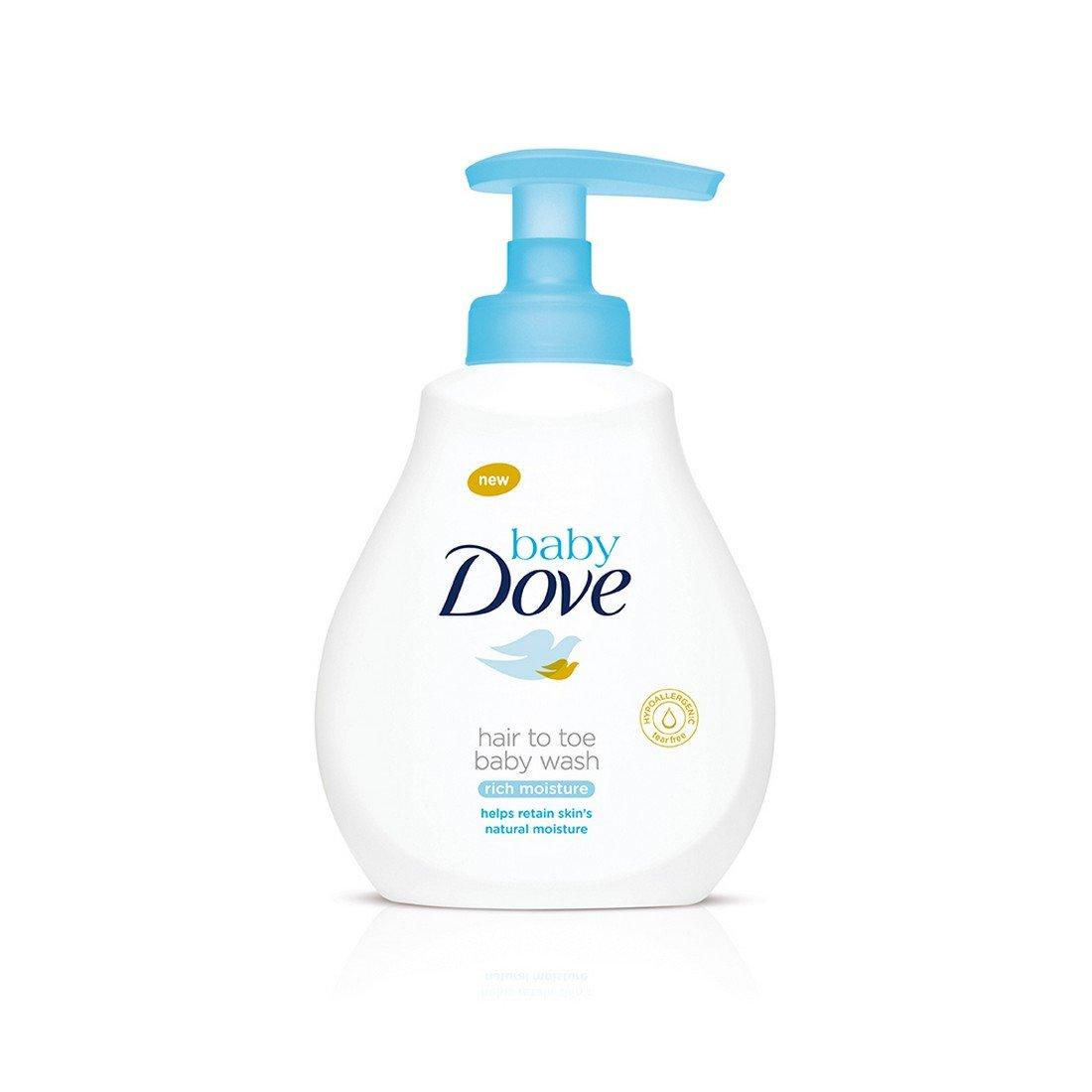 Baby Dove Rich Moisture Hair to Toe Baby Wash (400ml)