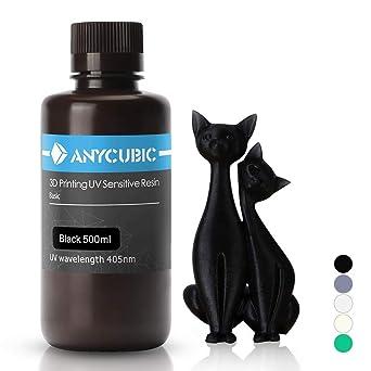 Anycubic 405nm Rapid Resin para impresora 3D Photon DLP LCD ...