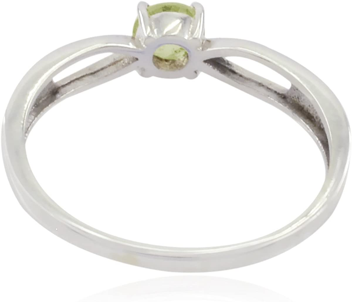 925 Silver Green Prehnite Genuine Gems Ring Wedding Jewelry fine Seller Gift for Thanks Giving Oval Cut Genuine Gems Round Faceted Prehnite Rings