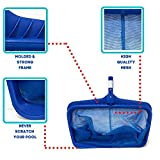 440, Deep Bag Pool Net, Bleu, Strong and Durable