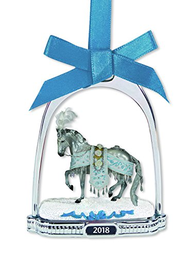 Breyer Celestine 2018 Holiday Horse Stirrup Ornament Holiday Ornament ()