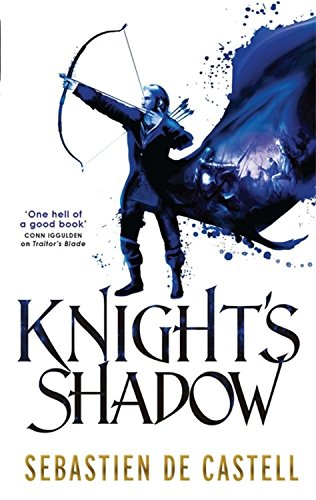 book cover of Knight\'s Shadow
