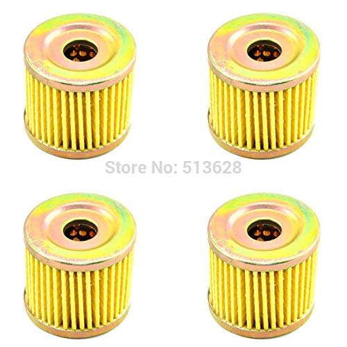 Nathan-Ng - 4 x Engine Oil Filters For Hyosung GA125 Cruise GF125 GT125 GT250 Comet GV125 GV250 Aquila RT125 Karion XRX125 RX125 D/SM