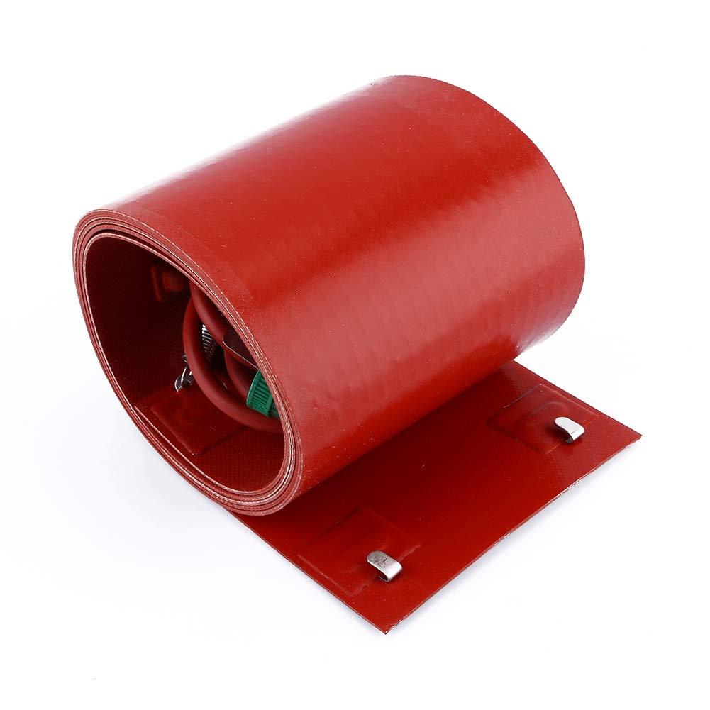 Xinrub - Calentador para tambor de aceite de silicona, aislante de galón, calentador de barco, 200 litros
