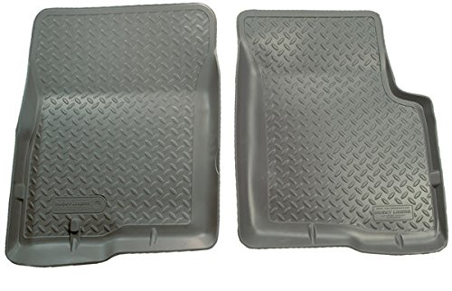 1997 Ford Club Wagon (GREY FRONT FLOOR LINERS - 2003-2012 Ford E-150, 2003-2005 Ford E-150 Club Wagon, 1997-2008 Ford E-150 Econoline, 1997-2002 Ford E-150 Econoline Club Wagon, 2003-2012 Ford E-250, 1997-2002 Ford E-250 Econoline, 2004-2005 Ford E-250 Super Duty, 2003 Ford E-350, 2003-2005 Ford E-350 Club Wagon, 1997-2002 Ford E-350 Econoline, 1997-2002 Ford E-350 Econoline Club Wagon, 2004-2012 Ford E-350 Super Duty CLASSIC STYLE SERIES)