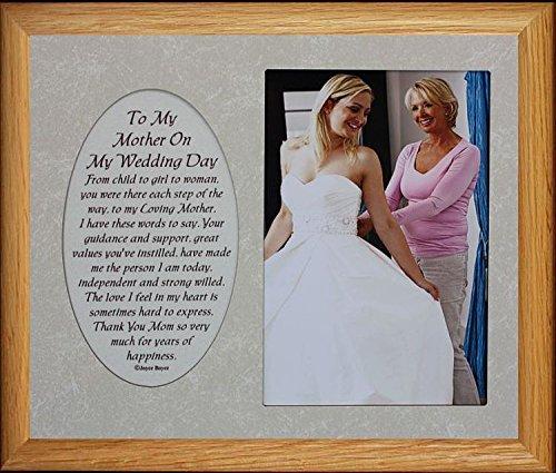 Amazon com - 8x10 TO MY MOTHER ON MY WEDDING DAY ~ Photo