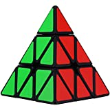 Dreampark Pyraminx Pyramid Speed Cube, Black