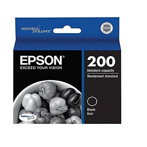 Epson® 200, (T200120) DuraBrite® Ultra Standard-Capacity Black Ink Cartridge (Epson Ink Cartridges For 310)