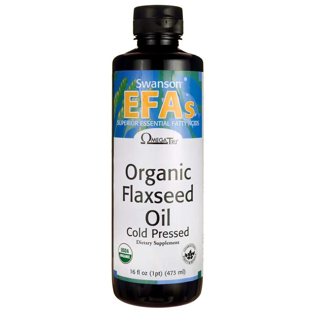 Swanson Flaxseed Oil (Omegatru) 16 fl Ounce (1 pt) (473 ml) Liquid by Swanson