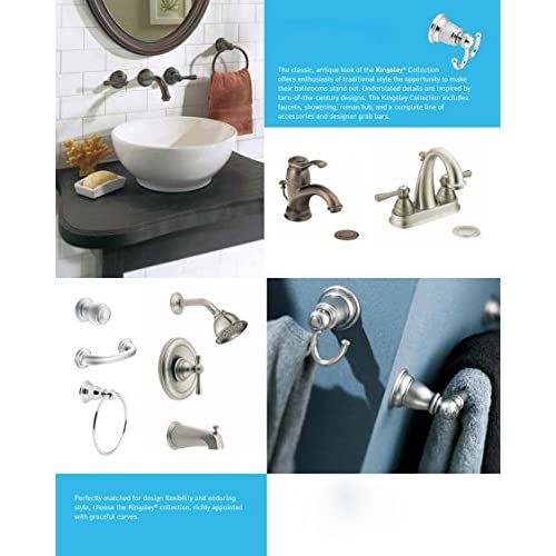 free shipping Moen T2113BN Kingsley Posi-Temp Tub and Shower Trim Kit without Valve, Brushed Nickel